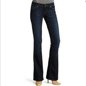 Paige Laurel Canyon low rise boot cut jeans sz 25